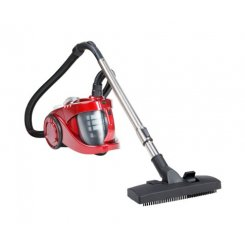 Devanti Bagless Cyclone Cyclonic Vacuum Cleaner HEPA Red