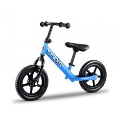 "Kids Balance Bike Ride On Toys Puch Bicycle Wheels Toddler Baby 12"" Bikes Blue"