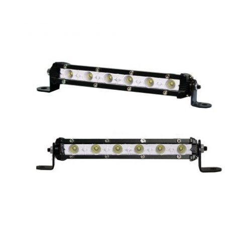 Pair 7inch Super Slim 30W CREE LED Light Bar Flood Work OFFROAD Driving Lamp ATV 4WD