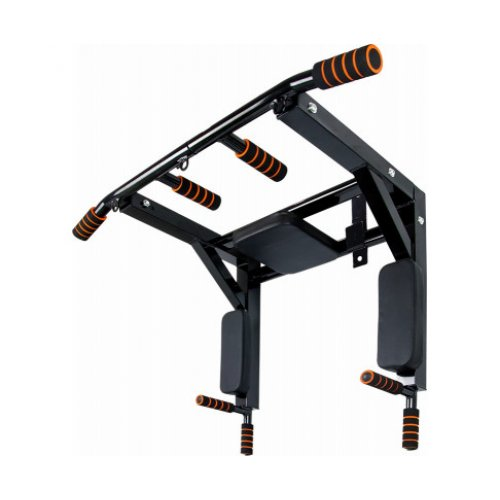Heavy Duty Wall Mounted Power Station - Knee Raise - Pull Up - Chin Up -Dips Bar