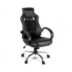 Artiss Gaming Chair Leather Office Computer Chairs Black