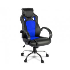 Artiss Gaming Chair Computer Office Chairs Blue & Black
