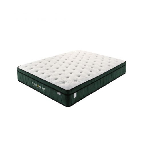 Green Tea Cool Gel Memory Foam Mattress 36cm 5 Zone Queen