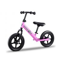 "Kids Balance Bike Ride On Toys Push Bicycle Wheels Toddler Baby 12"" Bikes-Pink"